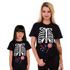 Skeleton Halloween T Shirt Trick Or Treat Top Bones Funny Scary Sweets #SKLSW