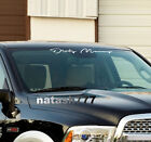 "DIRTY MONEY car truck SUV Sport 4x4 Windshield Vinyl Decal sticker emblem 23"" $19.96 USD on eBay"