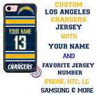 Los Angeles Chargers Phone Case Cover for iPhone X 8 PLUS iPhone 7 6 ipod 6 etc. $26.98 USD on eBay
