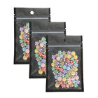 QQ Studio Multi Size Black Food Safe QuickQlick™ Flat Candy Bags with Hang Hole