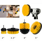3pc/5pcs Drill Brush Attachment kit Power Scrubber Wall Tile Upholstery Cleaning
