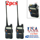 2pcs BAOFENG UV-5R Dual Band VHF/UHF 2Way Ham RadioTransceiver Walkie Talkie