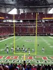Atlanta Falcons vs Dallas Cowboys 2 Tickets Nice Seats LL Endzone 11/18 on eBay