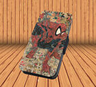 Marvel Comic Book for Leather Flip iPhone XS MAX XR & Samsung Huawei Wallet Case