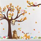 ZOOYOO® Monkey Owl Bear Deer Tree Forest Animls Wall Sticker Decorative Decor