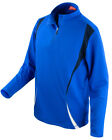 SPIRO 1/4 ZIP TOP TRAINING SPORT CYCLING LIGHTWEIGHT BREATHABLE LAYER UNISEX FIT
