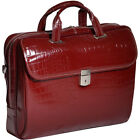 Siamod Monterosso Collection Servano Ladies Tablet Non-Wheeled Business Case NEW
