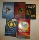 Lot of 5 Science Fiction by Veronica Roth and Suzanne Collins, HBDJ & PB SF1