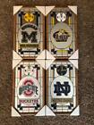 Collectible College Team Battery Powered Wall Clock/Mirror Za-Meks Made in USA