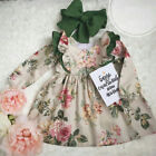 AU Newborn Toddler Kids Baby Girls Princess Dress Pageant Party Wedding Dresses