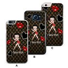 Betty Boop Classy Red Lady Kiss Plastic/ TPU Phone Case Cover £5.49 GBP on eBay