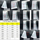 7cm Width Clear Poly Bag Self Adhesive Seal Resealable OPP Packing Bags 50-100PC