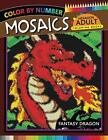 Fantasy Dragon Mosaics Hexagon Coloring Books Color by Number Stress