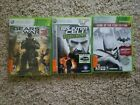 Lot Of 3 X Box 360 Games Used