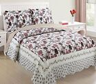 Ramano Collections 2 Piece Soft  Luxury Reversible Quilt Set | Silhouette