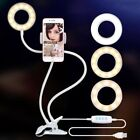 Selfie Ring LED Light with Cell Phone Holder Stand for Live Stream & MakeU