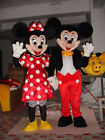 Halloween Mickey And Minnie Mouse Couple Mascot Costume Adult Dress Chic Cosplay