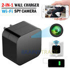 Full HD 1080P Wall Charger Spy Hidden Camera Mini WiFi Motion USB Power Adapter