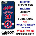 Cleveland Indians Baseball Jersey Phone Case Personalized for iPhone LG etc.