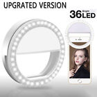 Selfie Portable LED Ring Fill Light Camera Flash for Android iPhone Cell Phone