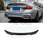 Refit CS Carbon Fiber Trunk Boot Spoiler Wing Fit BMW 5 Series F10/18 4Dr 10-17