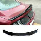 Refit A Type Carbon Fiber Trunk Boot Spoiler Wing Fit Ford Mustang 2015+