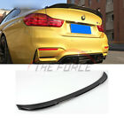 Refit CS Type Carbon Fiber Trunk Boot Spoiler Wing Fit BMW 4 Series F36 4Dr 14+