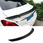 Refit RT Trunk Spoiler Fit Mercedes-Benz C-Class W204 4Dr Carbon Fiber 07-14