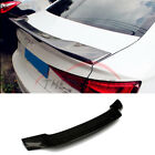 Refit R Type Carbon Fiber Trunk Boot Spoiler Wing Fit Audi A5 Coupe 2017+