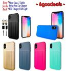 """for 6.5"""" Apple iPhone XS Max Brushed Hybrid Protective TPU PC Bumper CaseCover +"""