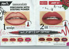 Avon 2 in 1 Lip Tattoo Stain Lip Liner & Fill Duo Lip Art Poppy & Give Me Heat