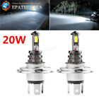 2× H4 20W CREE Headlight Fog Driving DRL Daytime Runing Traffic Light