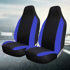Black / Blue Race Seat Covers Pair For Volkswagen SV Bettle Scirocco