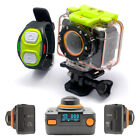 New WiFi Supported Sports Cam Full HD Recording 60m Waterproof Black