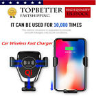 Qi Wireless Car Charger Magnetic Mount Holder For iPhoneX/8 SamsungS8 Note8 SB3