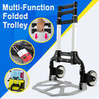 80kg Heavy Duty Expandable Folding Handle Aluminium Telescopic Sack Trolley Cart