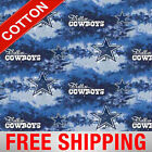"""Dallas Cowboys NFL Cotton Fabric - 60"""" Wide - Style# 6352 - Free Shipping!! $15.95 USD on eBay"""