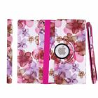 360 Rotating Flower PU Leather Case Smart Stand Cover For Apple ipad5/6 BZ