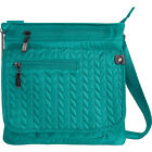 Sherpani Jag RFID Multi-Pocket Crossbody - Exclusive Cross-Body Bag NEW