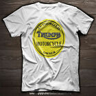 TRIUMPH Motorcycle AUTHORIZED TRIUMPH OWNER Yellow or Blue T SHIRT $27.0 AUD on eBay