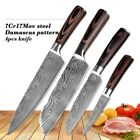 "kitchen Knive 8"" Professional Chef Knives Damascus steel Santoku Sharp"