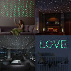 1set Party Home Decoration Glow In The Dark Wall Sticker Decal Luminous Dot Moon