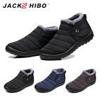Внешний вид - Mens Winter Snow Boots Waterproof Plush Lining Ankle Thickening Outdoor Shoes