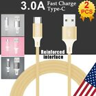 2x ikaufen Type-C Data Sync USB Charger Cable Cord For Samsung Galaxy S8 S9 S10