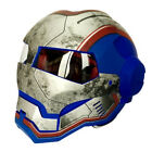 Iron Man Transformers Motorcycle Full Helmet Mask Protective Gear ABS Adult Mask