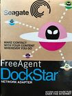 Seagate Free Agent DockStar Star Network Adapter NAS Hard Drive Dock New/Sealed