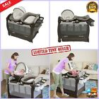 Graco Portable infant seat doubles Pack 'n Playard baby basinet Snuggle Suite LX