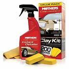 Automotive Car Vehicle California Gold Clay Bar Polish Wax Spray Bottle New