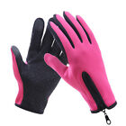 Touch Screen Thermal Driving Gloves Waterproof Bike Motorcycle Cycling Riding AU