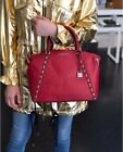 mihael kors bag sadie scarlet satchel leather 31*28 cm large